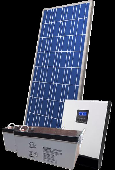 готовый комплект солнечной